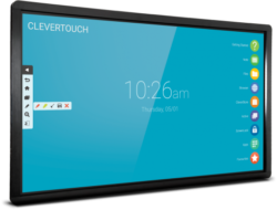 Clevertouch plus serie interactief ledscherm digibord touch marcelis Halle