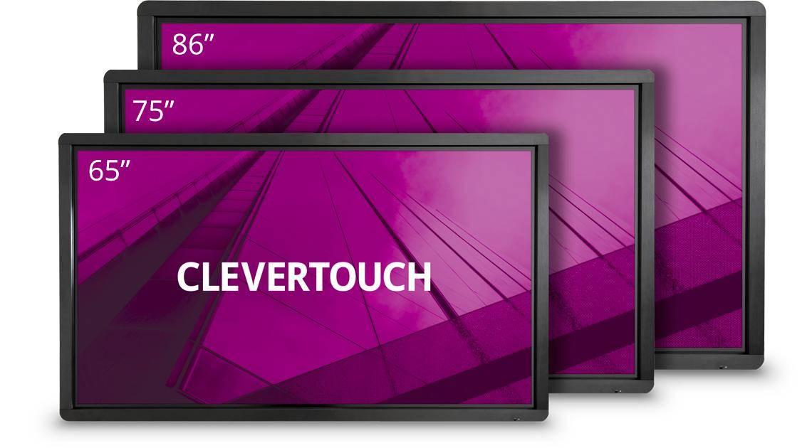 Marcelis clevertouch halle interactieve led schermen smartboard touch