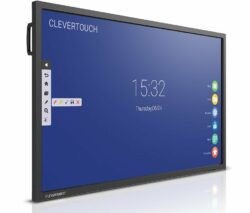 Clevertouch-V-series-55-65-75-86-Front