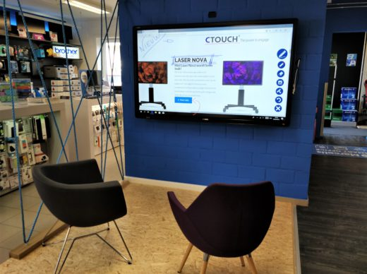 CTOUCH SHOWROOM MARCELIS HALLE SMART OFFICE