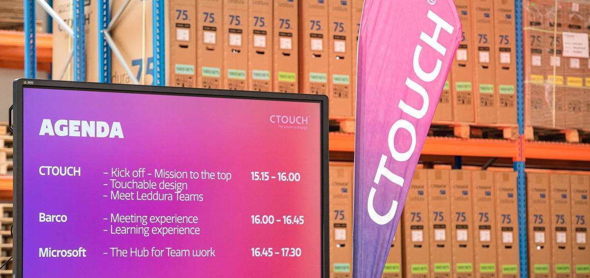 Marcelis Smart Office at CTOUCH Nederland Digiborden, smart borden touchscreens - Halle Belgie vlaams brabant