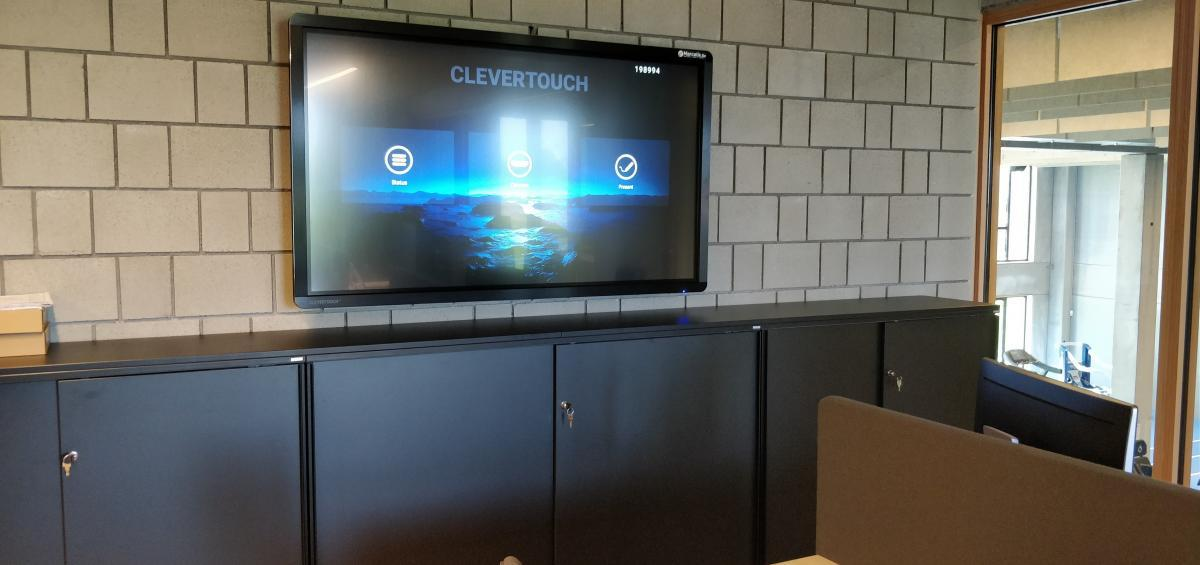 Club Brugge - Marcelis Smart Office - Clevertouch touchscreen - Belgie - Vlaams brabant