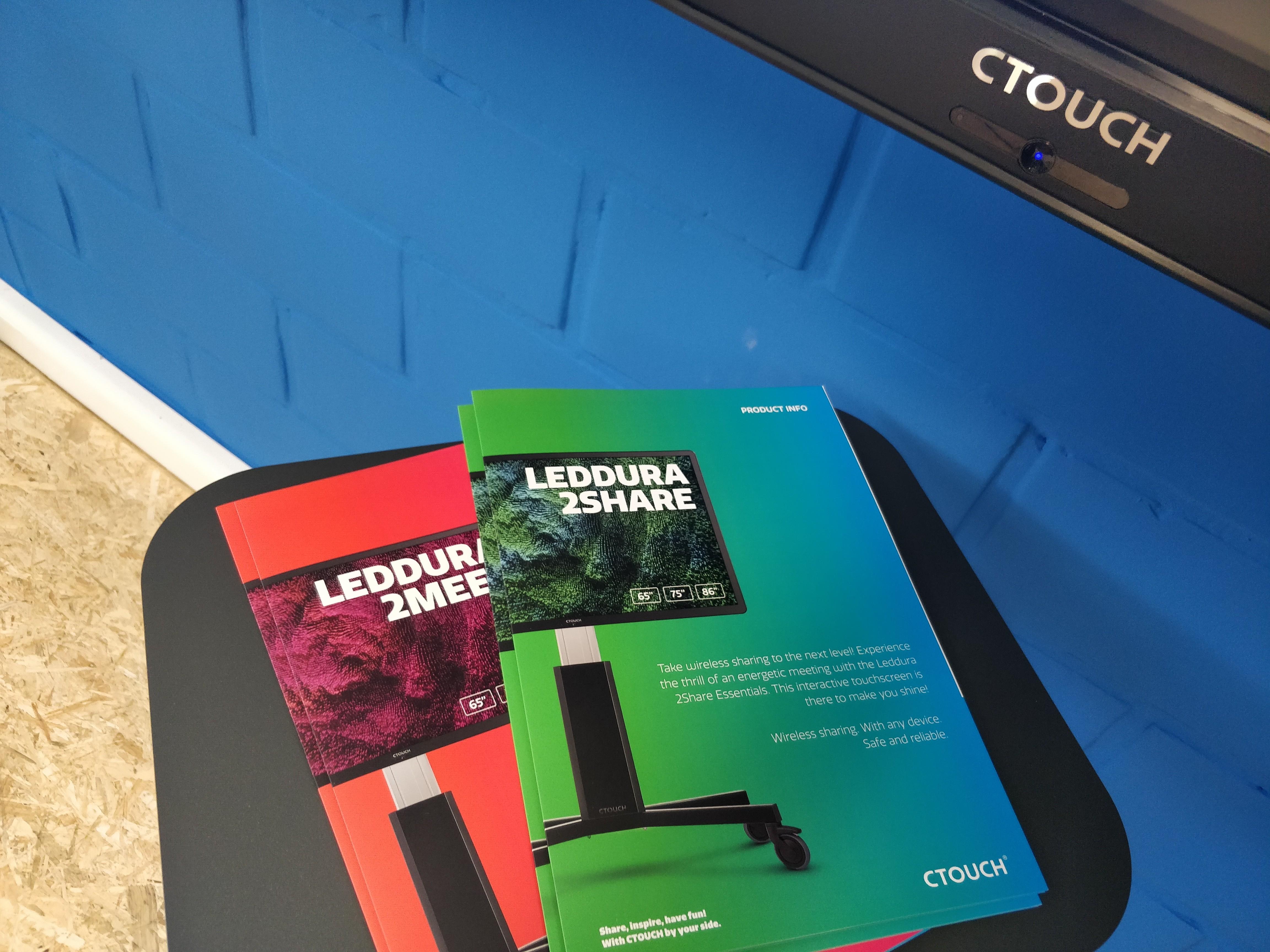 ctouch leddura 2meet 2share essentials marcelis halle belgie partner Folder op aanvraag