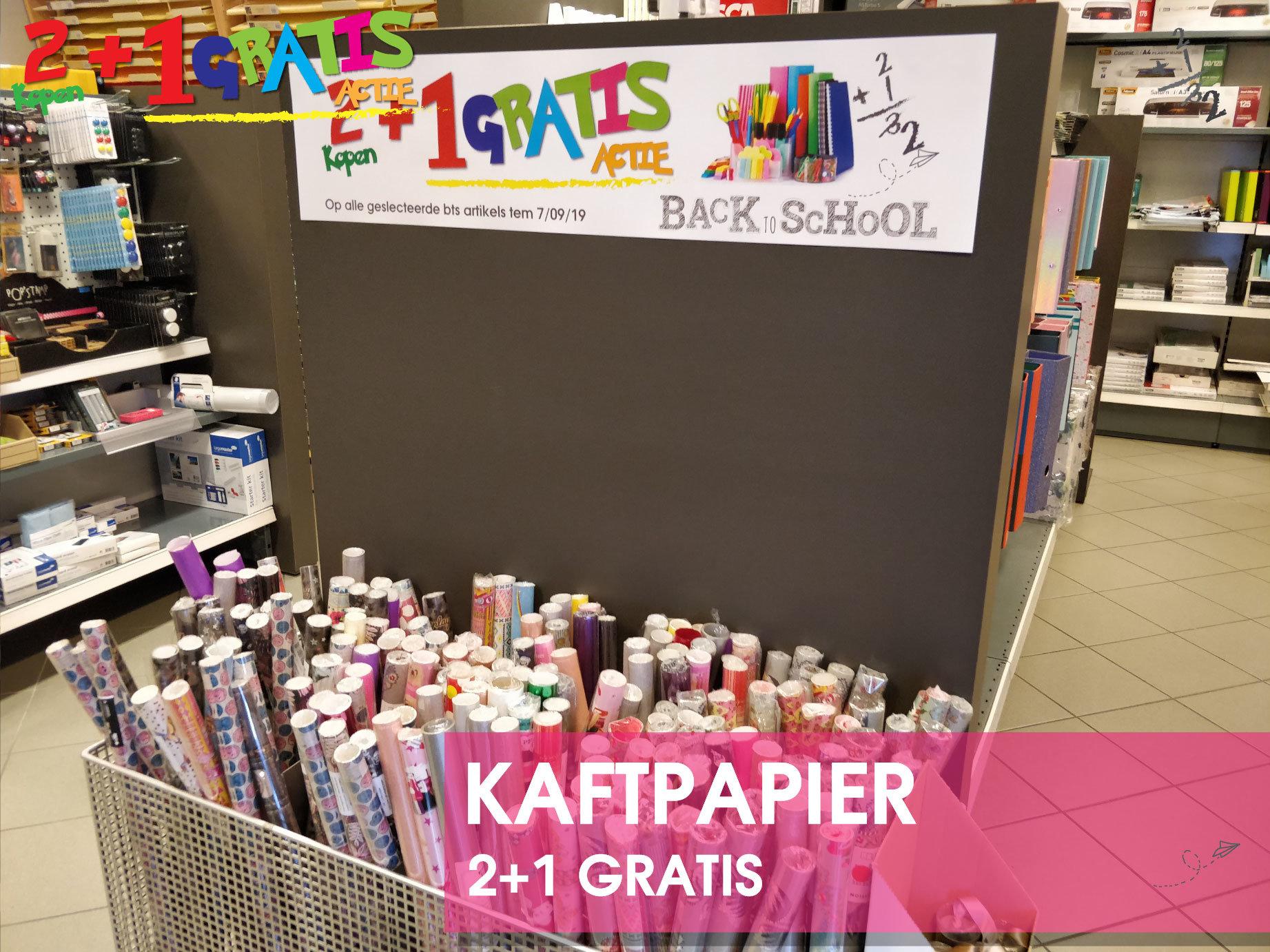 Marcelis-School-materiaal-kaftpapier-promo-2+1-gratis-actie