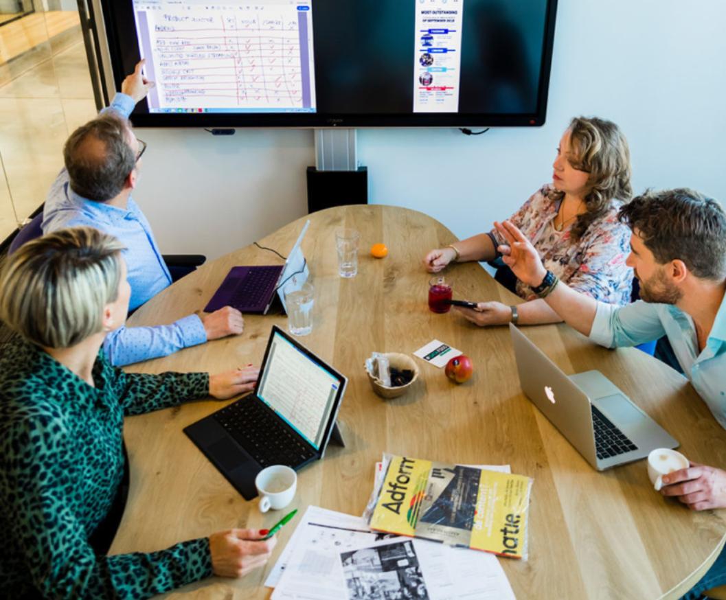 CTOUCH belgie delen met voila leddura 2share marcelis Halle smart Office