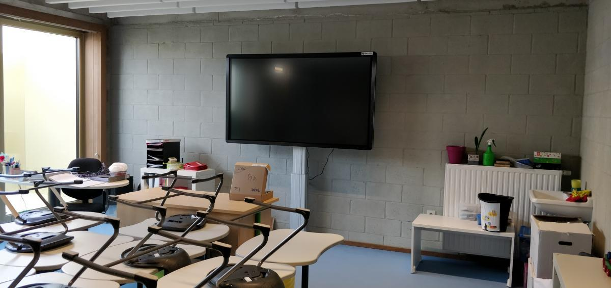 Clevertouch PLUS LUX 75 Marcelis Smart Office Basis school Balder brussel 2