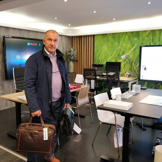 Marcelis Halle herfsthappening Smart Office school lifestyle
