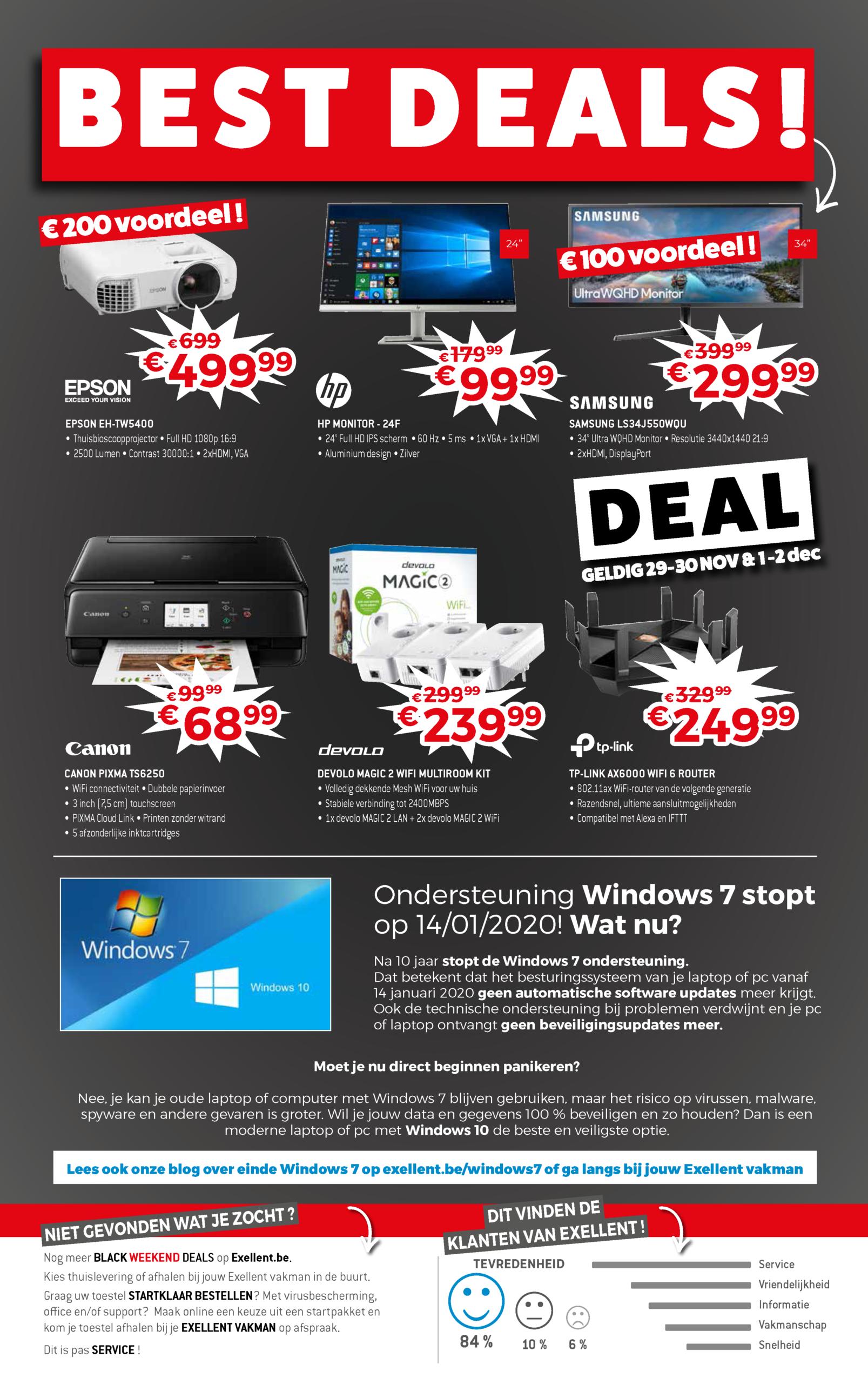 Marcelis Black friday 2019 deals it smart office belgie computer laptop print halle shop kortingen