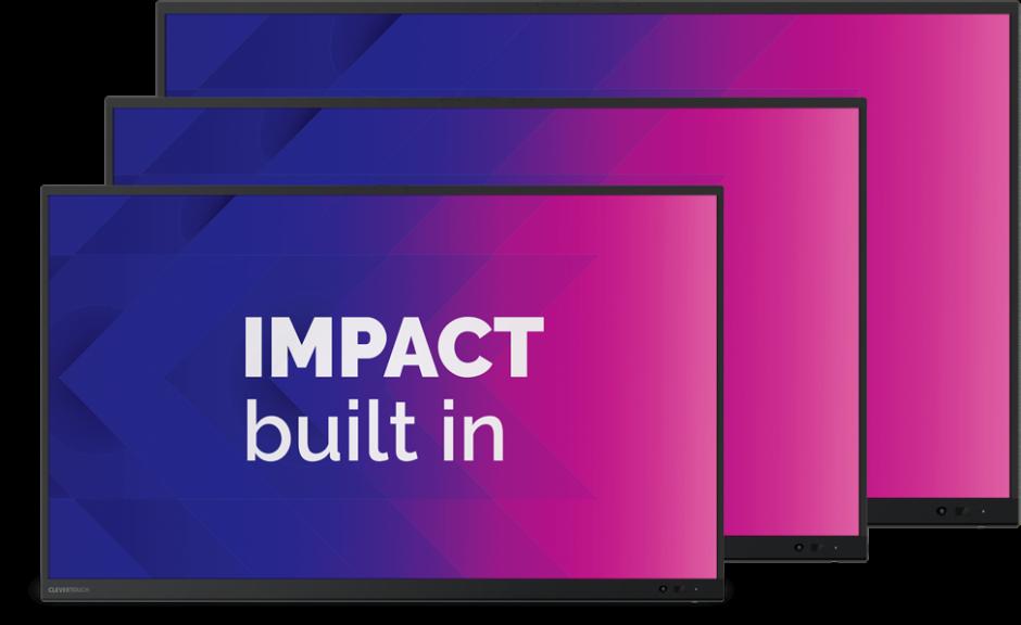 clevertouch impact en impact plus kopen marcelis halle belgie partner onderwijs educatie