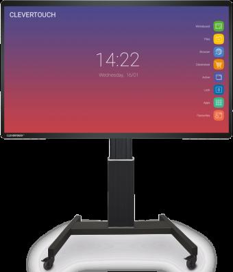 clevertouch impact mobiel onderstel touchscreen belgie kopen educatie partner