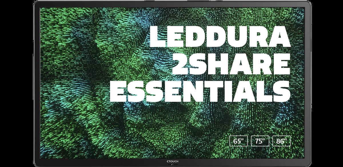 CTOUCH Leddura 2Share essentials marcelis Halle belgie