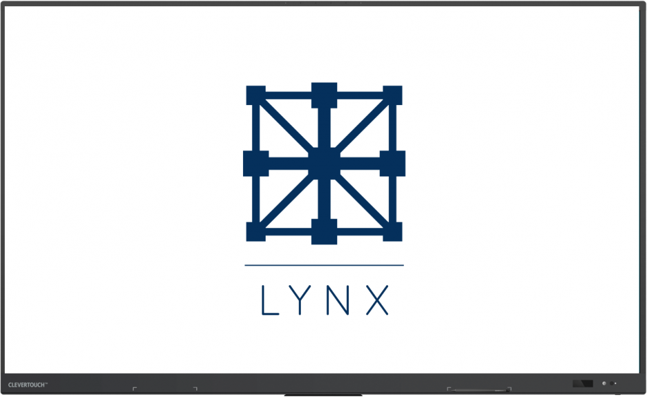 lynx-screen Clevertouch impact plus Belgie partner educatie school