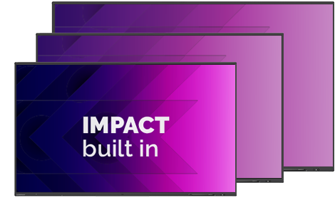 Clevertouch impact budget touchscreen digibord smartbord halle belgie support verdeler