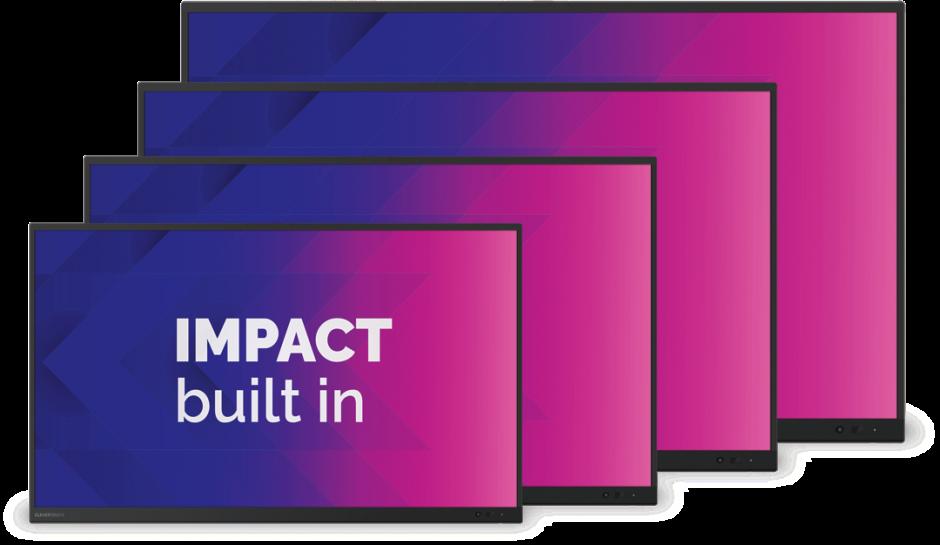 Clevertouch Impact Plus Belgie onderwijs marcelis Halle kopen promotie online kopen nu