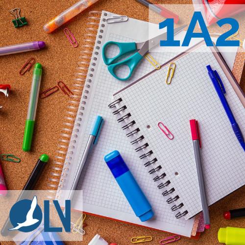 OLV 1A2-schoolmateriaal
