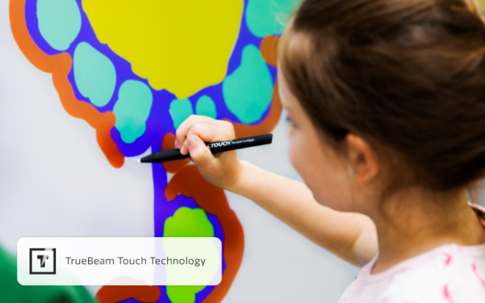 CTOUCH Riva TrueBeam touch kopen belgie partner schrijven touchscreen