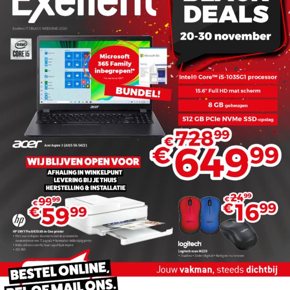 Exellent computer laptop black friday koop lokaal koop belgisch korting online 2020 printer service Halle belgie open winkel