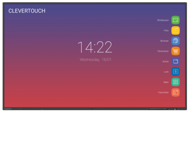 Clevertouch IMPACT lees meer