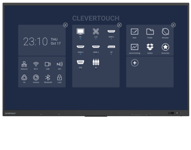 Clevertouch UX PRO lees meer