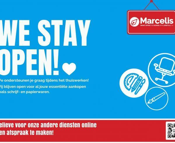 we blijven open ook zonder afspraak marcelis halle belgie clevertouch ctouch digibord kopen