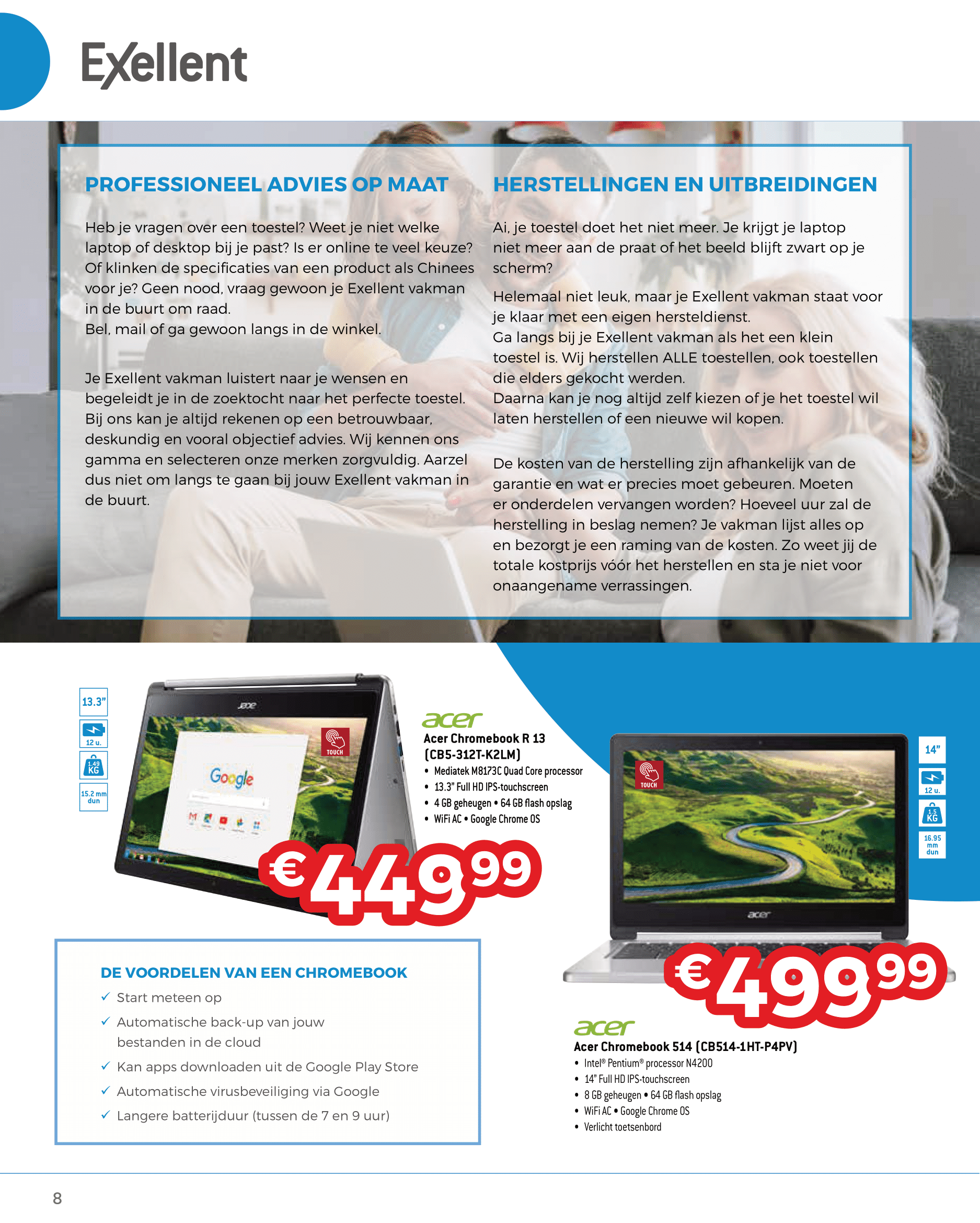 Folder lente 2021 it computer laptop printer voorraad interactief smartbord korting promo belgie clevertouch ctouch prowise i3